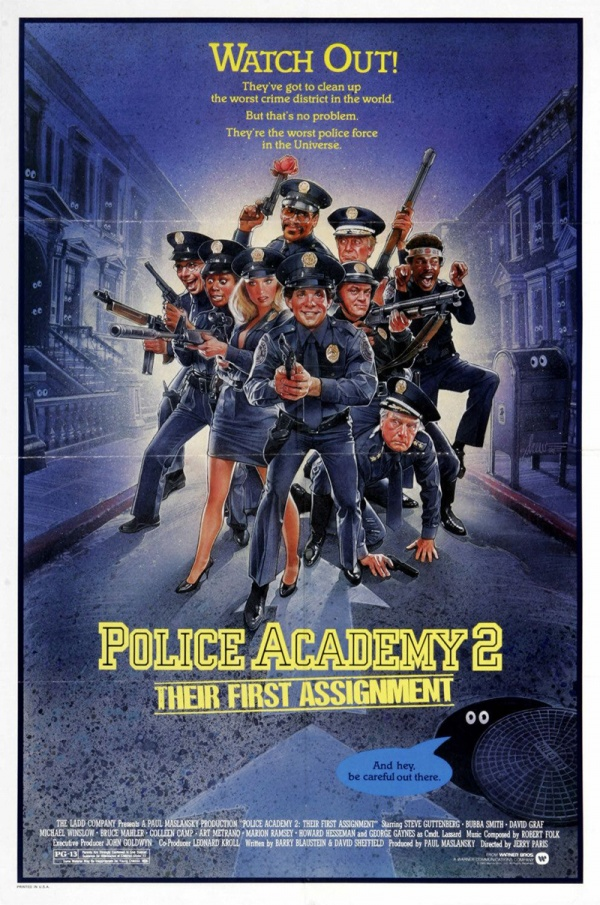POLICE ACADEMY 2: THEIR FIRST ASSIGMENT